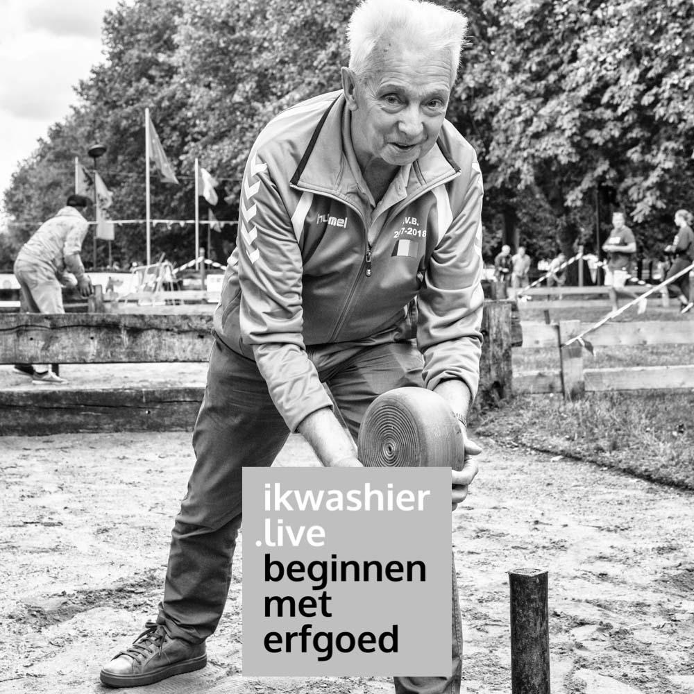 Beginnen met erfgoed - ikwashier.live - Bollen met krulbollen en Denis Van Vooren