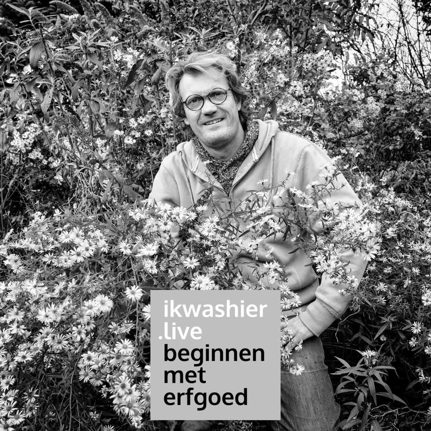 Een bijentuin aanleggen - Bart Vandepoele - Beginnen met erfgoed 212 - ikwashier.live in Bredene