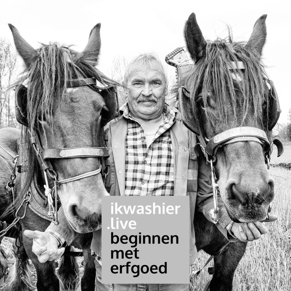 Ploegen met trekpaarden - Filip De Schutter